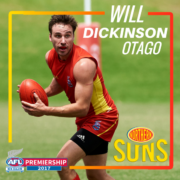 Will Dickinson 2017 Player Profile
